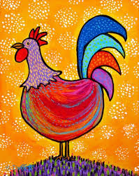 25 unique red rooster ideas on pinterest folk art paintings