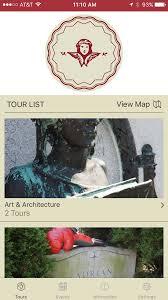 Walking Map App Walking Tours Mobile App Laurel Hill Cemetery