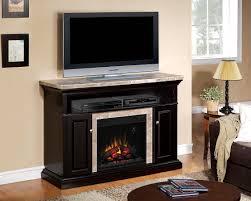 media fireplace console interior design
