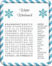 fun u0026 festive christmas word search printables for kids template