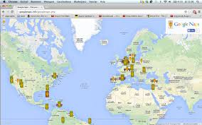 Google Map Of The World by Google Naps A Parody That Helps You Find Places To Snooze