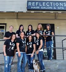reflections hair salon and spa home facebook