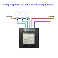 uk standard black 2 gang 2 way remote touch switch for smarthome