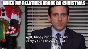 Happy Birthday Jesus Meme - happy birthday jesus imgflip