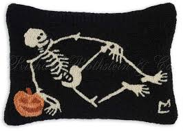 vintage halloween skeleton halloween throw pillows page two halloween wikii