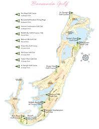 Map Of Bermuda Bermuda Golf Map Bermuda U2022 Mappery