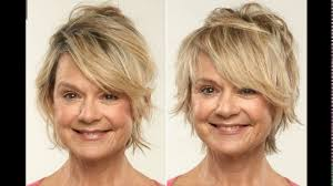 short haircuts for heart shaped faces and fine hair youtube