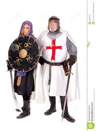 Muslim Halloween Costume Templar Muslim Stock Photo Image 44084242
