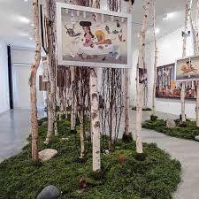 White Decorative Branches Decorative Branches Paper Birch Poles