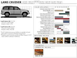 toyota land cruiser touchup paint codes image galleries brochure