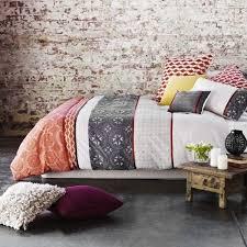 Rustic Chic Bedroom - cozy rustic bedroom design ideas brown wooden furniture set and