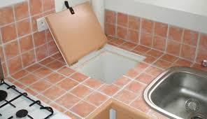 renovation plan de travail cuisine carrelé r novation d un plan de travail cuisine recouvrir carrelage