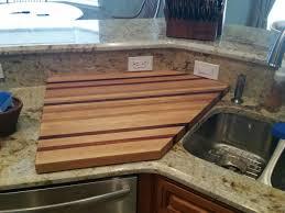 Countertop Cutting Board Custom Cutting Boards Caring For Your Custom Cutting Board
