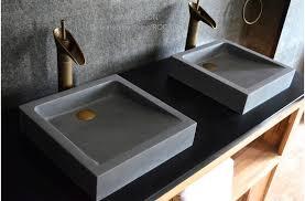 stone vessel sink amazon amazon com mini concrete vessel sink handmade regarding designs 5