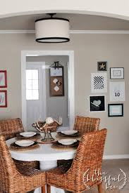 Diy Ceiling Lamps Diy Drum Pendant U201ccover Up U201d Light U2013 The Blissful Bee