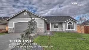 Cbh Homes Teton 1591 Floor Plan