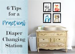 Repurpose Changing Table by Practical Diaper Changing Station Tutorial The Diy Lighthouse