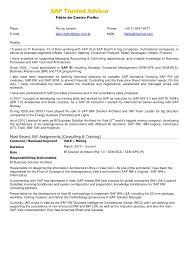 Sap Abap Sample Resumes by Sap Bi Bobj Resume Bo Administration Sample Resume Sap Business