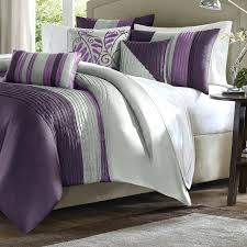 Plum Bed Set Plum Bedding Silver And Plum Bedding Purple And Silver Bedding Set