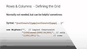javafx grid layout exle create javafx layouts like a boss youtube