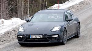 Porsche Panamera Dimensions - the second gen porsche panamera gives everyone two turbos