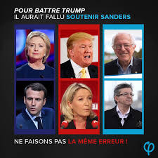 French Meme - meme from the french presidential election to defeat trump le