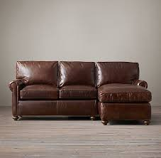 Fabulous Small Leather Sectional Sofas Charm Sectional Couches For - Small leather sofas for small rooms