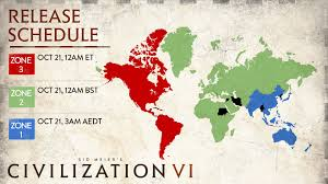 Us Times Zone Map by Civ Vi Unlock Times And A Guide For Unlocking Early Civ