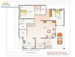 small duplex floor plans duplex plan house and elevation sq ft kerala homenns in india