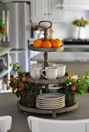 Kitchen Island Decor Ideas Diy Three Tiered Stand Picmia