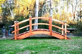 backyard bridges wooden garden bridge garden bridges wooden garden bridges ireland