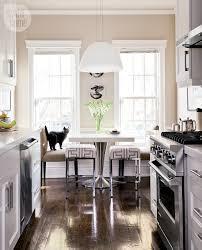 kitchen interior bistro glamour style at home