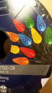 150 led c6 lights 150 ct led christmas lights brand new household in san leandro