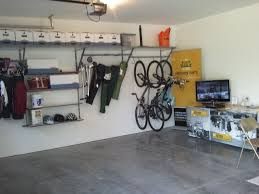 Diy Garage Wall Shelves by Diy Garage Storage Them To The Wall And Hangers Will Be Ready Hang