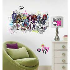 Monster High Bedroom Decorations Monster High Bedroom Ebay