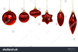 six different shapes ornament isolated stock photo