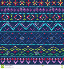 ugly sweater pattern 1 stock vector image 77295386