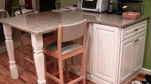 Kitchen Island With Corbels Square Island Legs Perfect For Contemporary Kitchen Osborne Wood