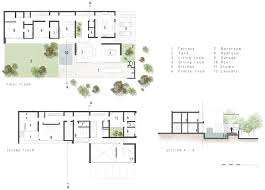 Optometry Office Floor Plans Architecture Small Modern House Plan Renders And Images Realized