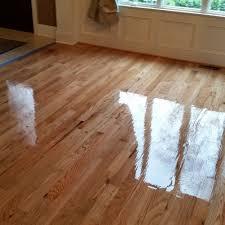 refinished the existing 3 1 4 oak hardwood floors mooresville