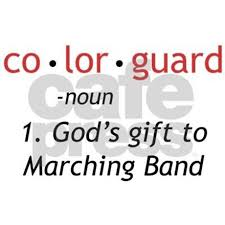 definition of colorguard ornament by marchingstuff