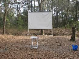 backyard movie screen material home outdoor decoration