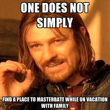 Meme Vacation - one does not simply find a place to while on vacation