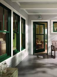 Andersen 400 Series Patio Door Price Andersen 400 Series Wood Clad Hunter Green Windows With Tall