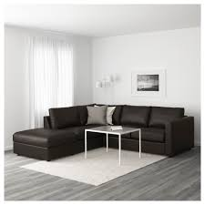 canapé d angle sans accoudoir vimle canapé d angle 4 places sans accoudoir farsta noir ikea