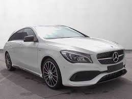 used mercedes cla used mercedes benz cla class estate diesel in cirrus white pan s