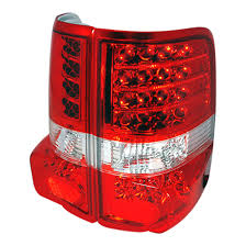 2004 f150 tail lights 04 07 ford f150 red lens euro style led tail lights