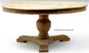 Antique Pedestal Dining Table Dining Mesmerizing Dining Room With Cool Pedestal Dining Table