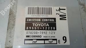 engine ecu toyota corolla e10 2 0 d ce100 116124