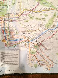 Ny Mta Map October 29 1989 New York City Subway Map Effective Octo U2026 Flickr
